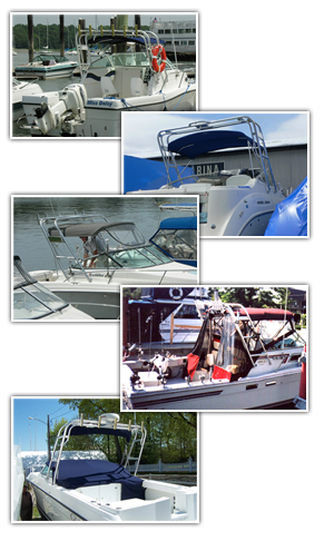 Marine Radar Arches Boat Arches Custom Boat Covers