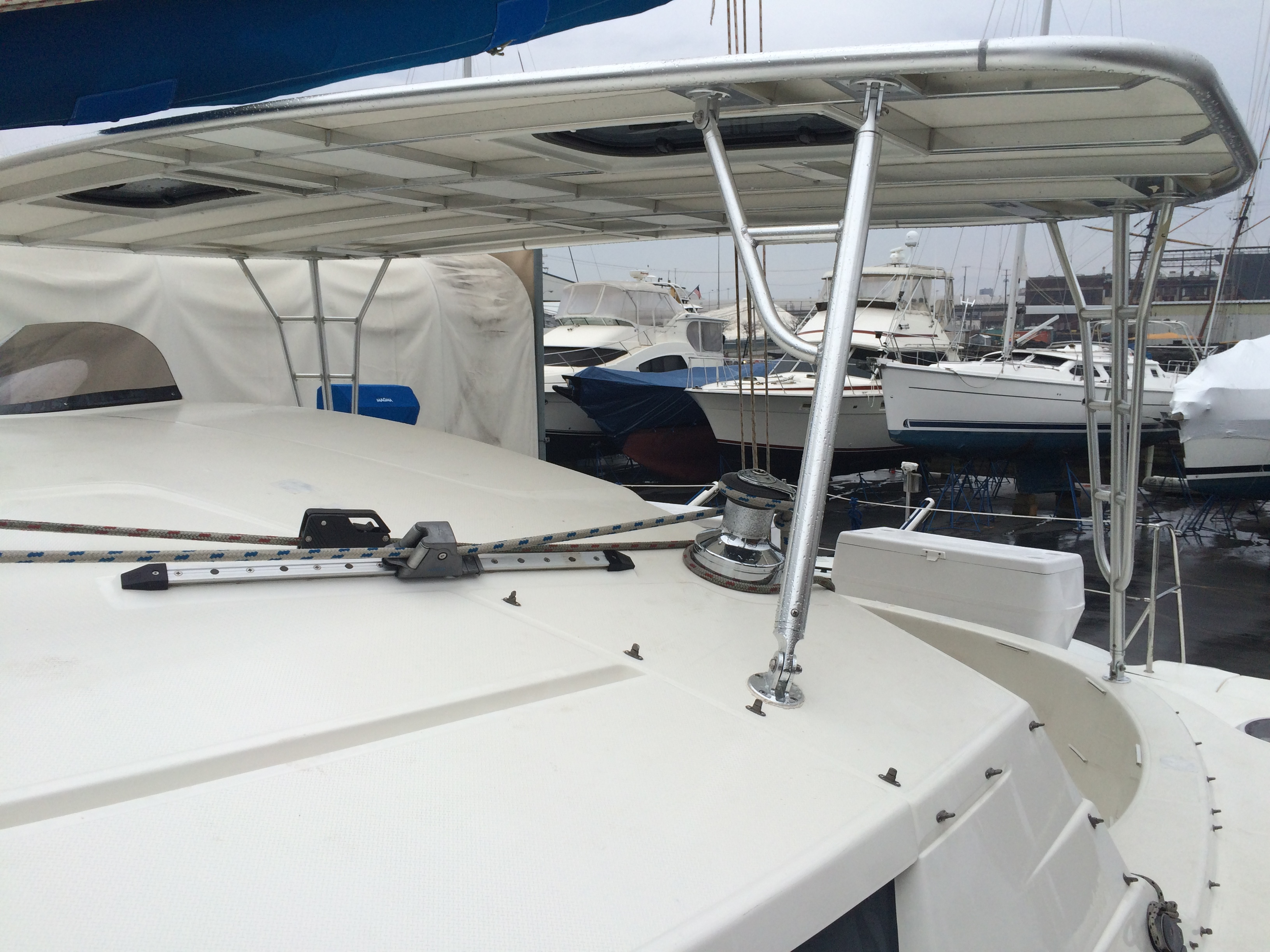 Sail Boat Hardtops Custom Boat Towers Atlantic Towers