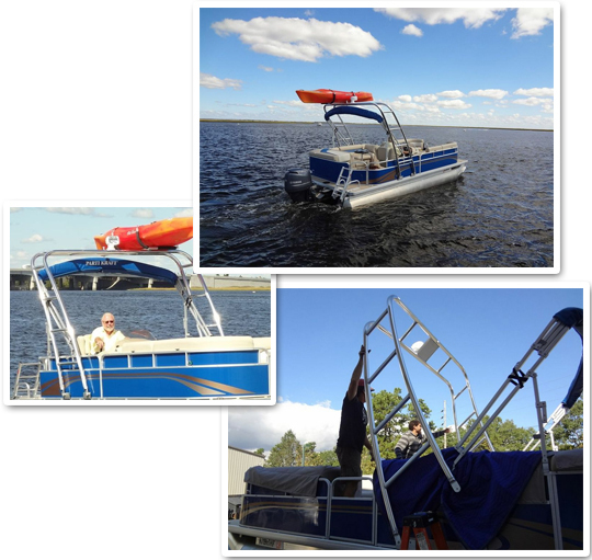 Pontoon Collage