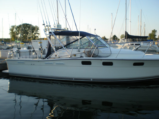 Hello Shelley - Attached is an image of my Tiara 2700 Open with the Atlantic ...